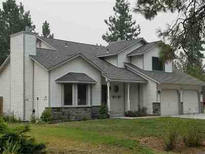Spokane County, Stevens County Single Family Home For Sale: 24207 N Elk Chattaroy Rd