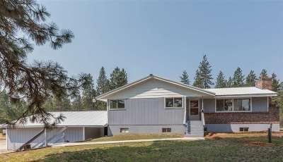 Mead Single Family Home For Sale: 5918 E Day-Mount Spokane Rd