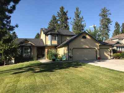 Spokane Single Family Home For Sale: 1113 E Barley Brae Ct