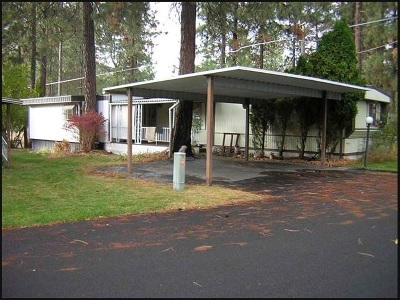 Mead Mobile Home For Sale: 3928 E Lane Park Rd #48