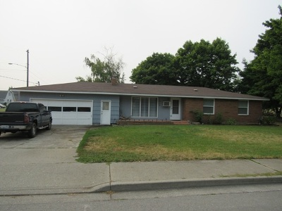 Spokane Valley Single Family Home Ctg-Inspection: 1317 N Bowdish Rd