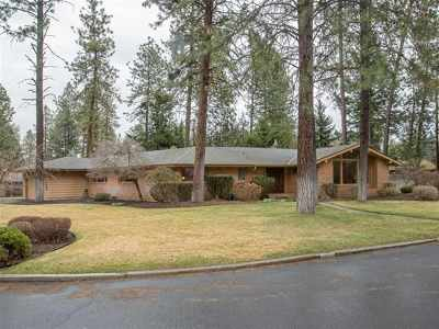 Spokane Single Family Home Ctg-Inspection: 11910 N Country Club Dr