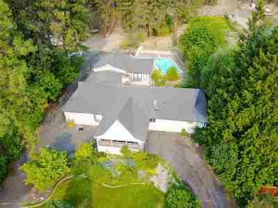 Spokane Single Family Home Bom: 13402 N Mill Rd