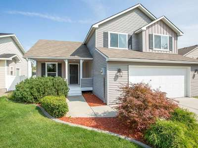 Spokane Valley Single Family Home New: 17519 E Augusta Ln