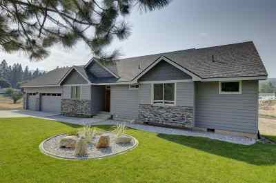 Spokane Valley Single Family Home For Sale: 4310 S Schafer Rd
