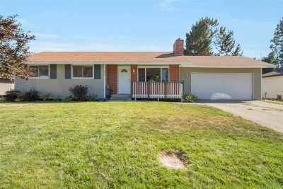 Spokane Single Family Home For Sale: 11304 E 33rd Ave