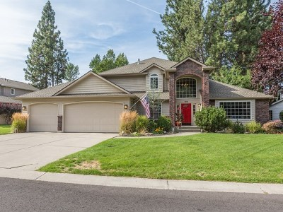 Spokane Valley Single Family Home For Sale: 1818 S Stanley Ln