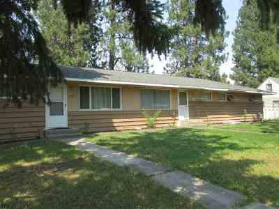 Spokane Valley Multi Family Home For Sale: E 6th