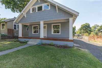 Spokane Single Family Home For Sale: 622 S Denver St