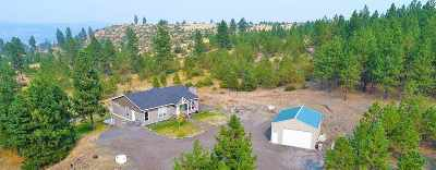 Nine Mile Falls Single Family Home Ctg-Sale Buyers Hm: 17216 N Valley Rd