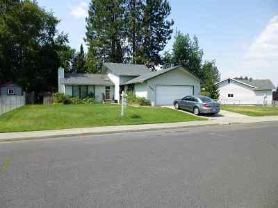 Spokane Single Family Home For Sale: 8201 N General Lee Way