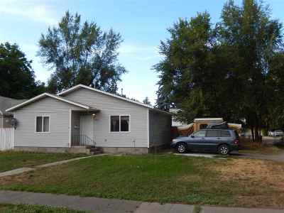 Spokane WA Single Family Home New: $115,000