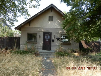 Single Family Home For Sale: 5311 N Madison St