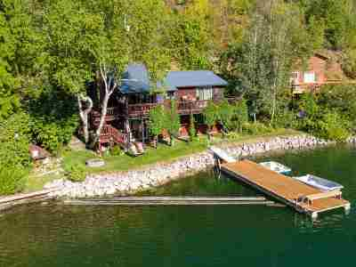 Spokane County, Stevens County Single Family Home For Sale: 2880 Deep Lake South Shore Rd