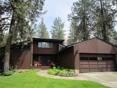Spokane County, Stevens County Single Family Home For Sale: 12525 S Spotted Rd