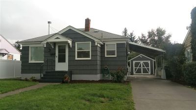 Spokane Single Family Home For Sale: 1728 N Lacey St