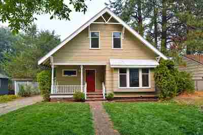 Spokane Single Family Home For Sale: 1717 E 14th Ave