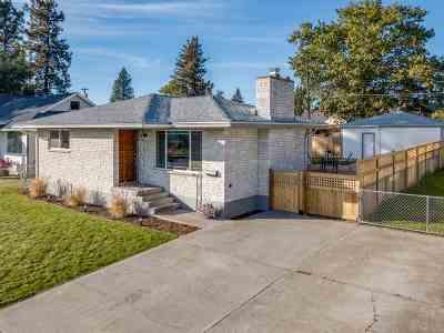 Spokane Single Family Home For Sale: 432 W Glass Ave