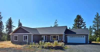 Spokane County, Stevens County Single Family Home Ctg-Inspection: 36414 S Rock Lake Rd