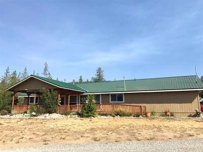 Spokane County, Stevens County Single Family Home For Sale: 1562 A E Highway 20