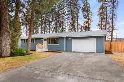 Spokane Valley Single Family Home For Sale: 3022 S Avalon Rd
