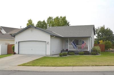 Cheney WA Single Family Home For Sale: $218,500
