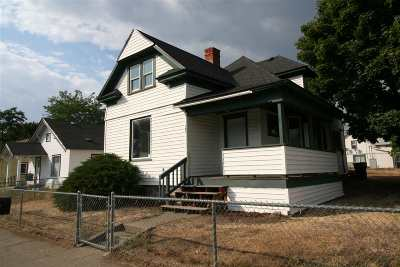 Spokane Single Family Home New: 127 E Dalton Ave