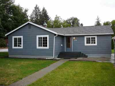Cheney WA Single Family Home For Sale: $195,000