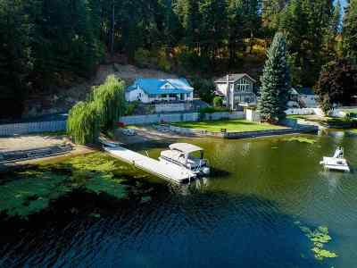 Newman Lk Single Family Home For Sale: 11401 N Honeymoon Bay Rd
