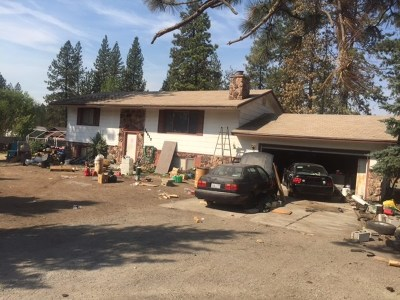 Nine Mile Falls WA Single Family Home Ctg-Inspection: $145,000