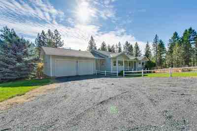 Spokane County, Stevens County Single Family Home Chg Price: 822 Arden Hill Rd