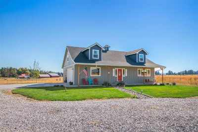 Spokane Single Family Home For Sale: 32605 N Spotted Rd