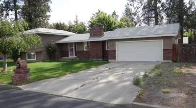 Spokane Single Family Home Bom: 6414 N Elizabeth St