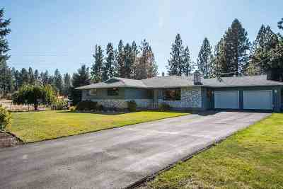Spokane Single Family Home For Sale: 6311 N Walnut Rd