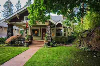 spokane Single Family Home For Sale: 438 W 21st Ave