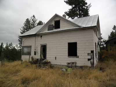 Spokane County, Stevens County Single Family Home Ctg-Inspection: 4005 S Hwy 395 Hwy