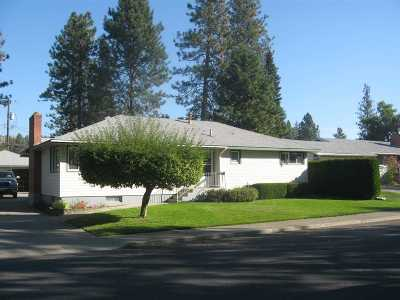 Spokane Single Family Home For Sale: 3110 W Rosewood Ave
