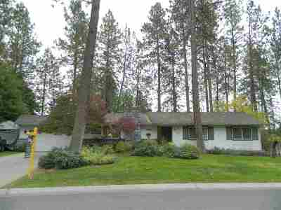 Spokane Single Family Home Bom: 11812 N Highwood Ct