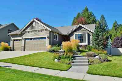 Spokane Valley Single Family Home For Sale: 5210 S Bates Dr