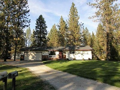 Nine Mile Falls WA Single Family Home For Sale: $234,500