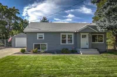 Spokane Valley Single Family Home For Sale: 1302 S Bowdish Rd