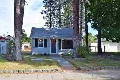 Spokane Single Family Home Bom: 5418 N Walnut St