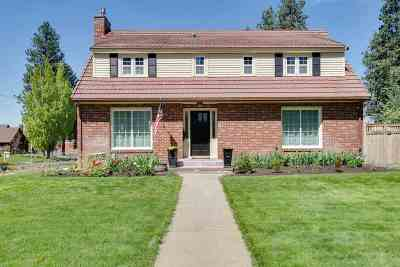Spokane Single Family Home For Sale: 826 W 27th Ave