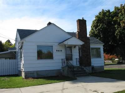 Spokane Valley Single Family Home For Sale: 9410 E Broadway Ave