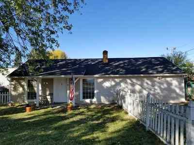 Spokane Valley Single Family Home For Sale: 107 N Conklin Rd