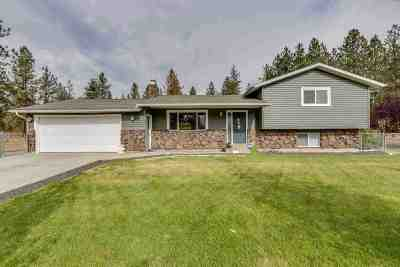 Nine Mile Falls WA Single Family Home Ctg-Inspection: $245,000