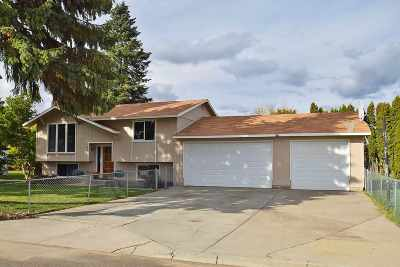 Spokane Valley WA Single Family Home Ctg-Inspection: $195,000