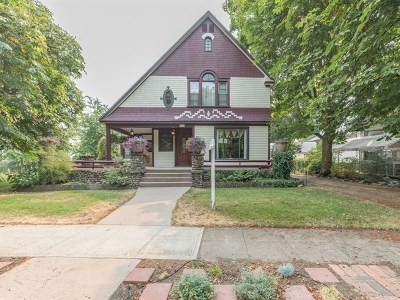 Spokane Single Family Home For Sale: 2517 W Maxwell Ave