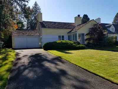 Spokane, Spokane Valley Single Family Home For Sale: 1304 E Overbluff Rd