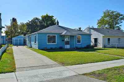 Spokane WA Single Family Home New: $129,000